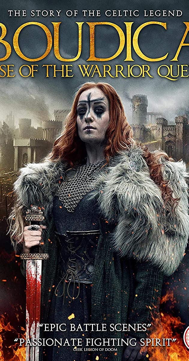 Subtitle of Boudica: Rise of the Warrior Queen