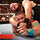 John Cena and Kevin Steen in WWE Battleground (2015)