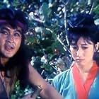 Son Hui Chang and Ham Gi Sop in Pulgasari (1985)