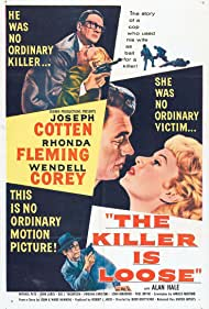 Joseph Cotten, Wendell Corey, and Rhonda Fleming in The Killer Is Loose (1956)