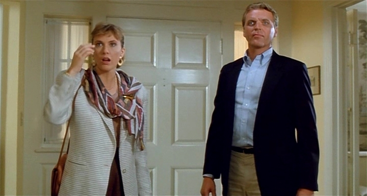 Colleen Camp and David Rasche in Wicked Stepmother (1989)