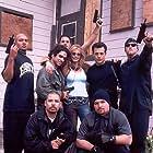 Danny Arroyo, Dana Dubovsky, and Louis Mandylor in White Rush (2003)
