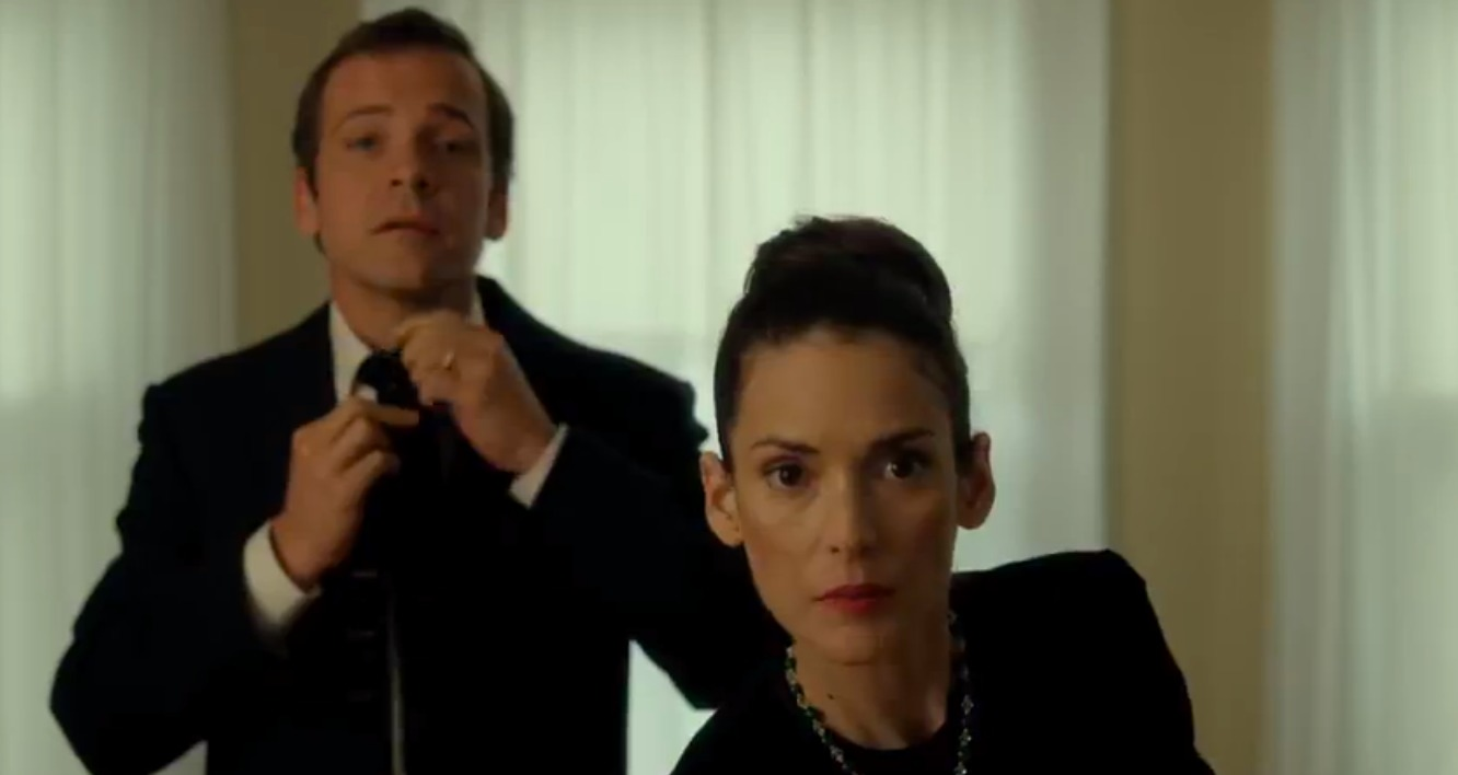 Peter Sarsgaard and Winona Ryder in 'Experimenter'