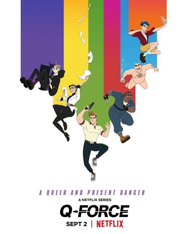Q-Force (2021) Season 1 Hindi Dubbed (Netflix)