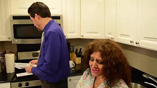"Debra as ""DAWN"" with Marty in the Kitchen"