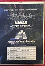 American Video Awards Poster