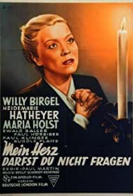 Heidemarie Hatheyer and Willy Birgel in Mein Herz darfst du nicht fragen (1952)
