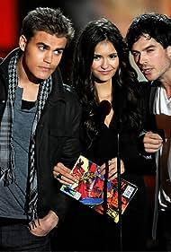 Ian Somerhalder, Paul Wesley, and Nina Dobrev in Scream Awards 2010 (2010)