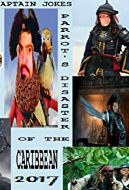 Captain Jokes Parrot's Disaster of the Caribbean Poster