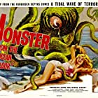 Anne Kimbell and Stuart Wade in Monster from the Ocean Floor (1954)