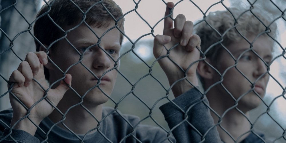 Lucas Hedges and Troye Sivan in Boy Erased (2018)