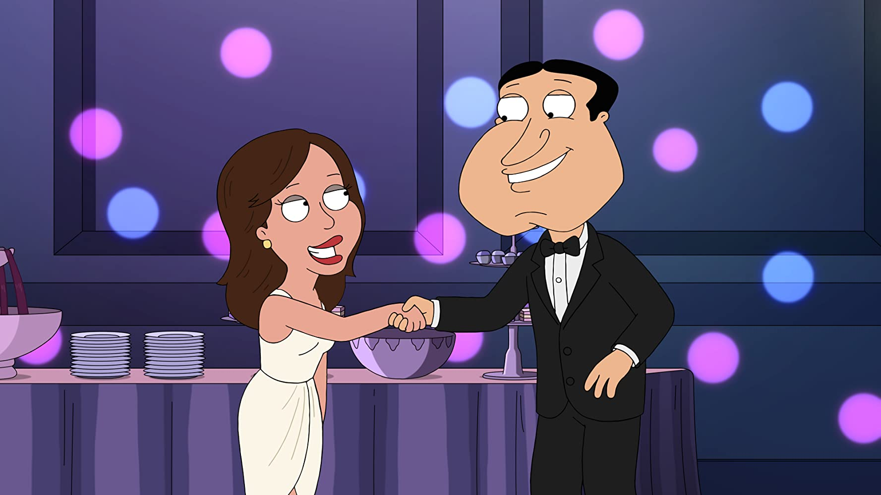 Seth MacFarlane and Mandy Moore in Family Guy (1999)