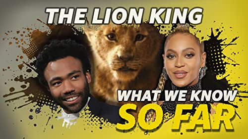 What We Know About 'The Lion King' ... So Far