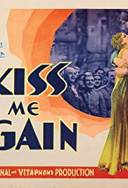 Kiss Me Again (1931) Poster - Movie Forum, Cast, Reviews