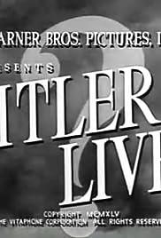 Hitler Lives Poster
