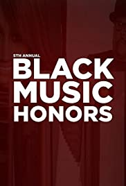 5th Annual Black Music Honors Poster