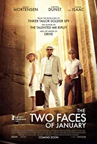 Kirsten Dunst, Viggo Mortensen, and Oscar Isaac in The Two Faces of January (2014)