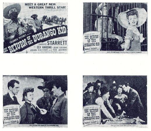 John Calvert, Tex Harding, and Charles Starrett in The Return of the Durango Kid (1945)