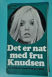 Det er nat med fru Knudsen Poster