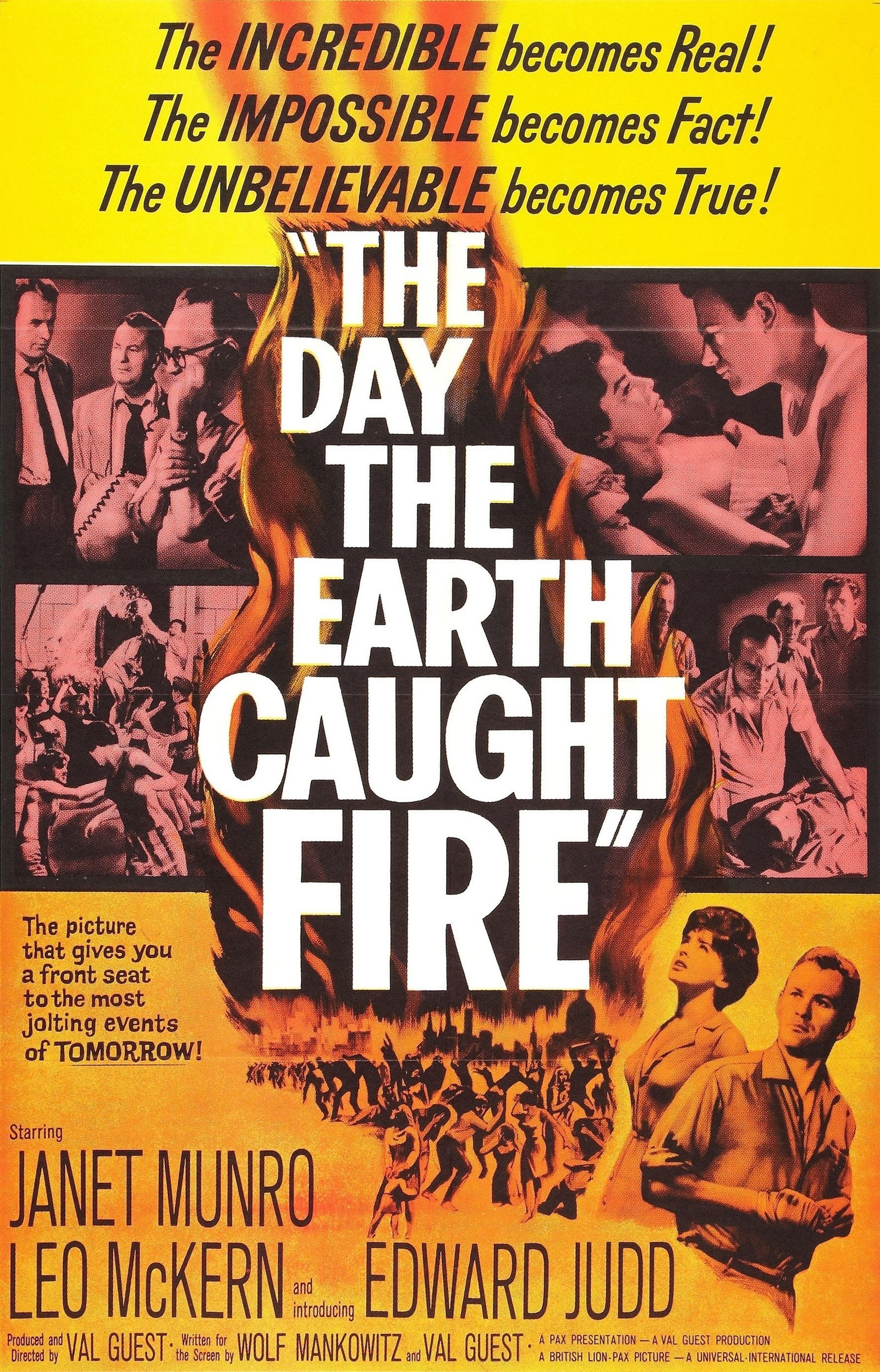 The Day the Earth Caught Fire (1961) - IMDb