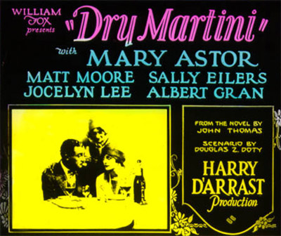 Dry Martini (1928)