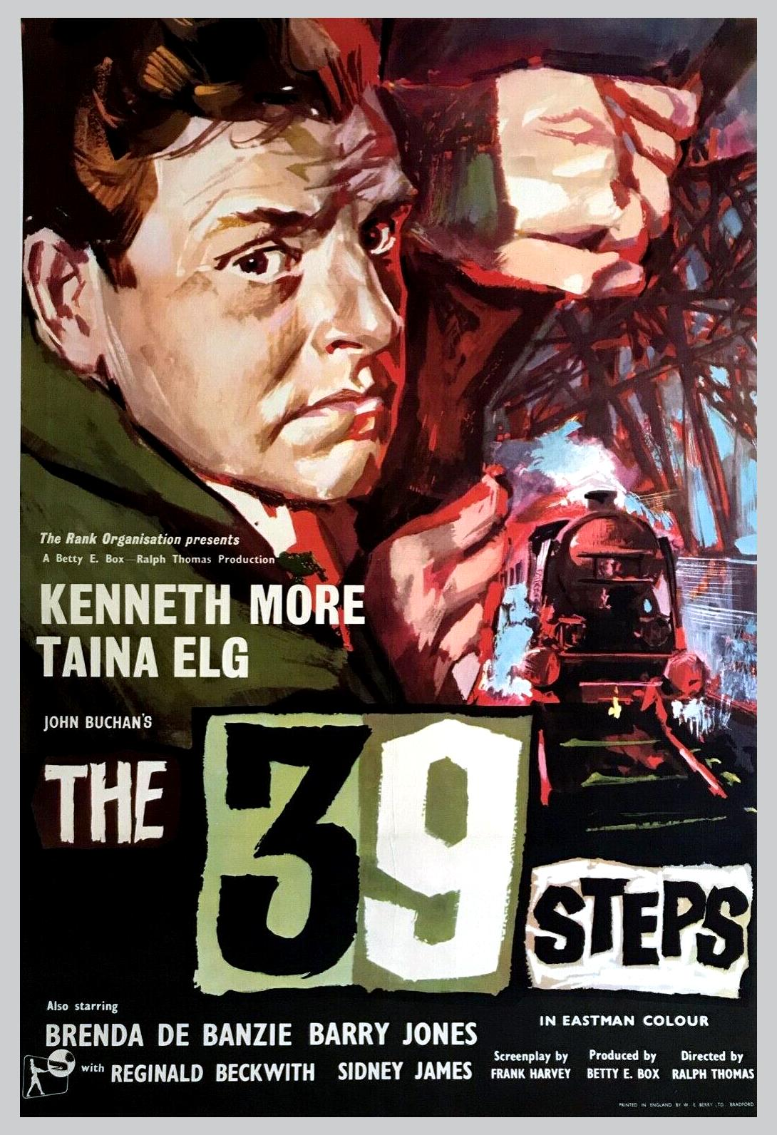 Kenneth More in The 39 Steps (1959)