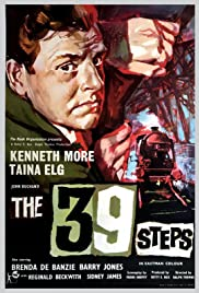 The 39 Steps (1959) Poster - Movie Forum, Cast, Reviews