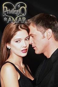 Adela Noriega and René Strickler in El privilegio de amar (1998)