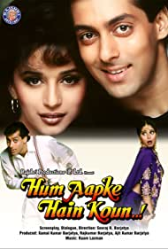 Madhuri Dixit and Salman Khan in Hum Aapke Hain Koun...! (1994)