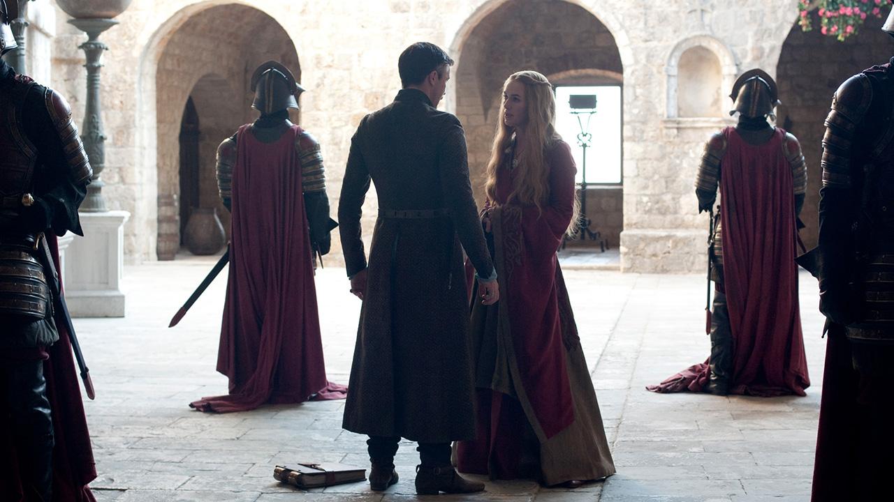 Aidan Gillen and Lena Headey in Game of Thrones (2011)
