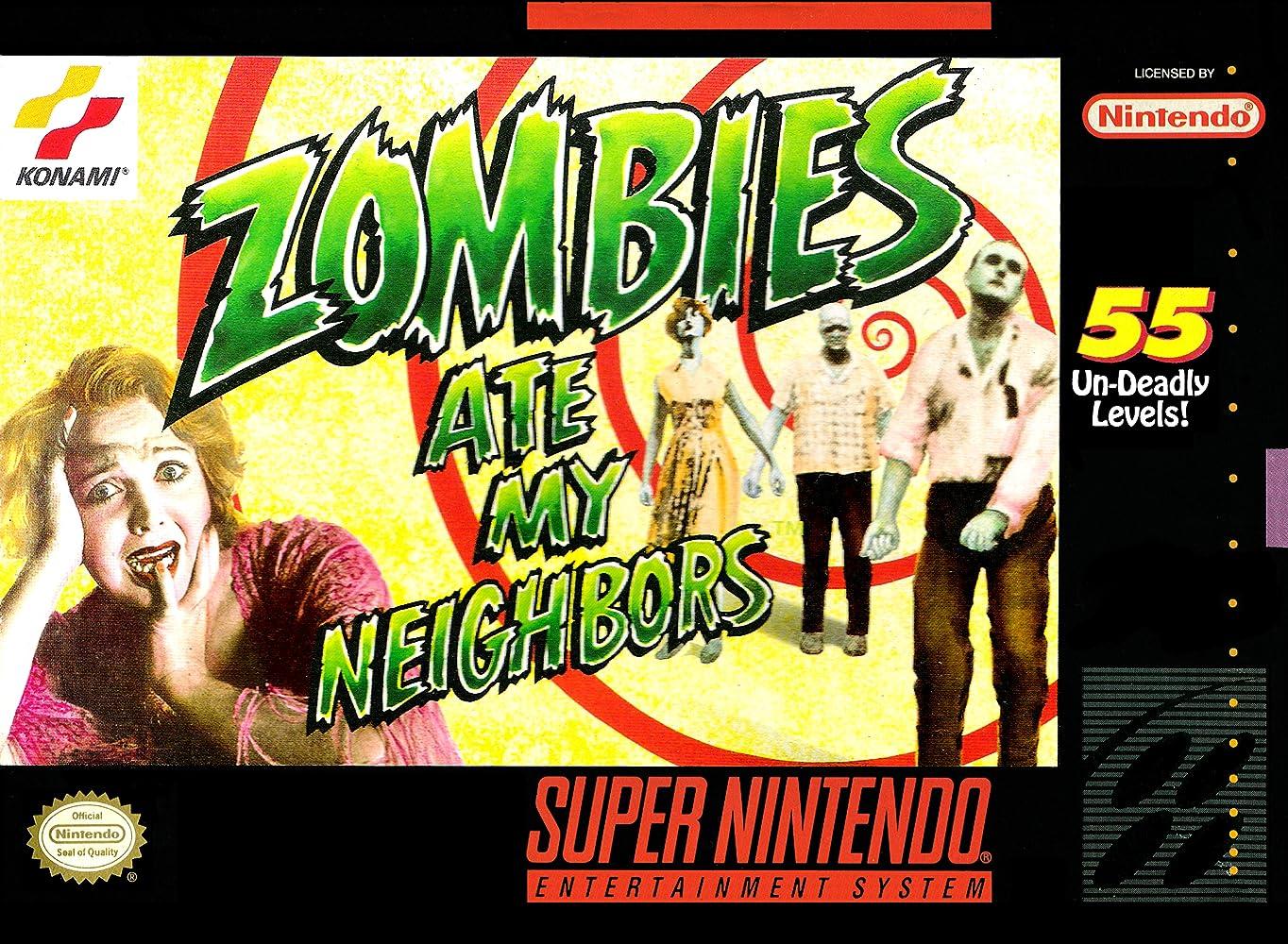 Resultado de imagen para zombie ate my neighbors