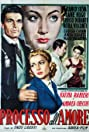Processo all'amore (1955) Poster