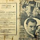 José Crespo, Antonio Moreno, and Lupita Tovar in Alas sobre El Chaco (1935)