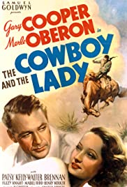 The Cowboy and the Lady Poster