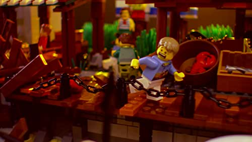 Lego Masters: The Judges Are Impressed With Mark & Boone's Build