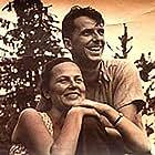 Hristo Ganev and Binka Zhelyazkova in Zhivotut si teche tiho... (1988)
