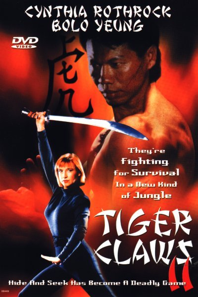 Cynthia Rothrock and Bolo Yeung in Tiger Claws II (1996)