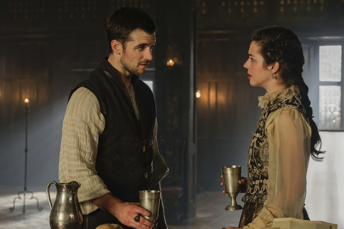 Adelaide Kane and Dan Jeannotte in Reign (2013)