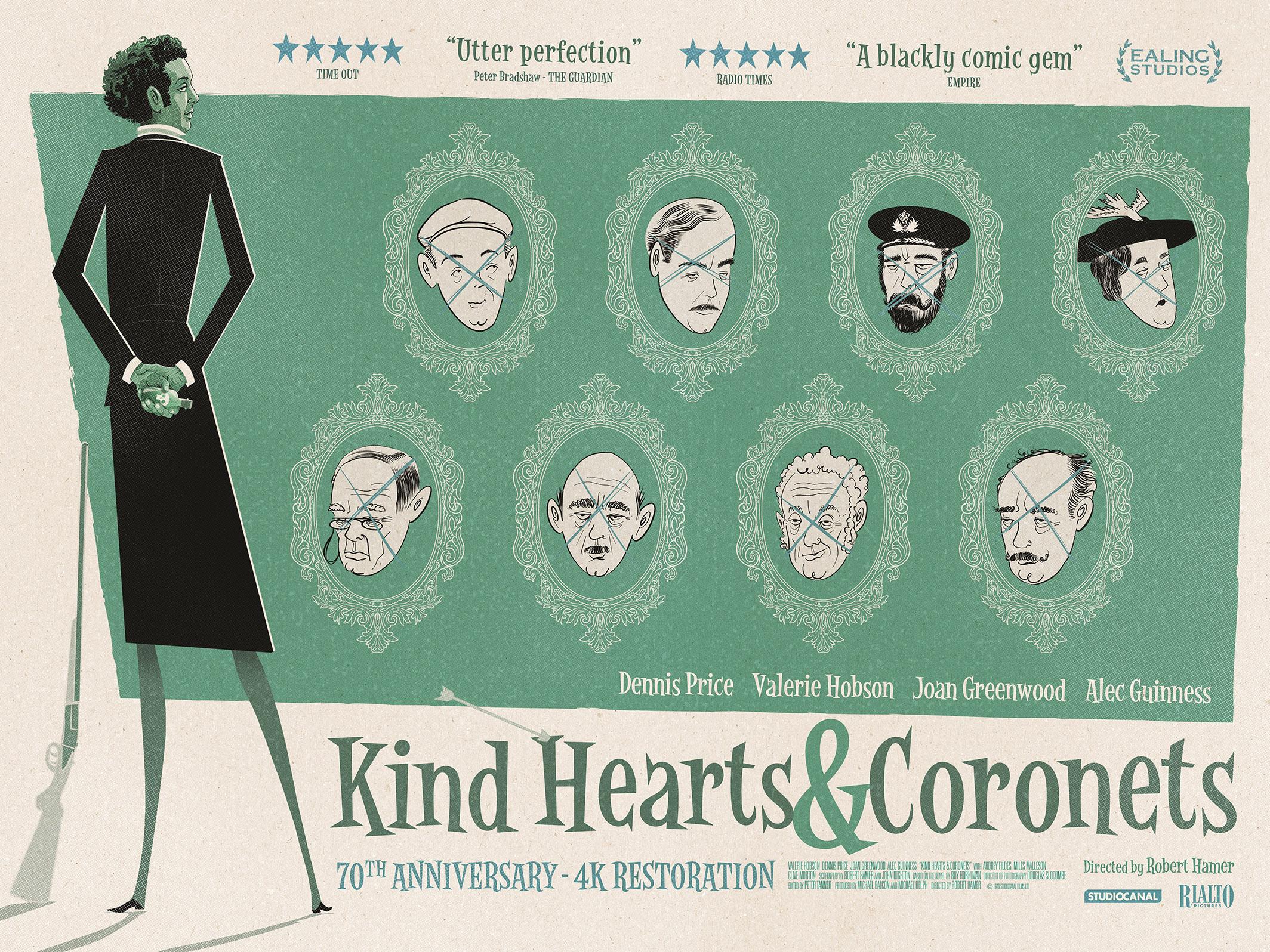 Kind Hearts and Coronets (1949) - IMDb