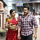 Suriya and Keerthy Suresh in Thaanaa Serndha Koottam (2018)