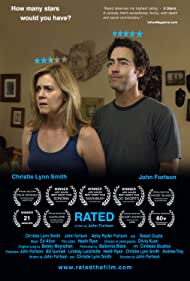 Christie Lynn Smith and John Fortson in Rated (2016)
