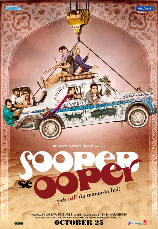 Sooper Se Ooper 2013 Hindi Movie 720p HDRip 710MB ESub Download