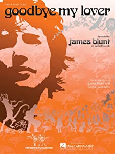 Download goodbye my lover sheet music by james blunt sheet music.