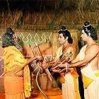 Sunil Lahri and Arun Govil in Ramayan (1987)