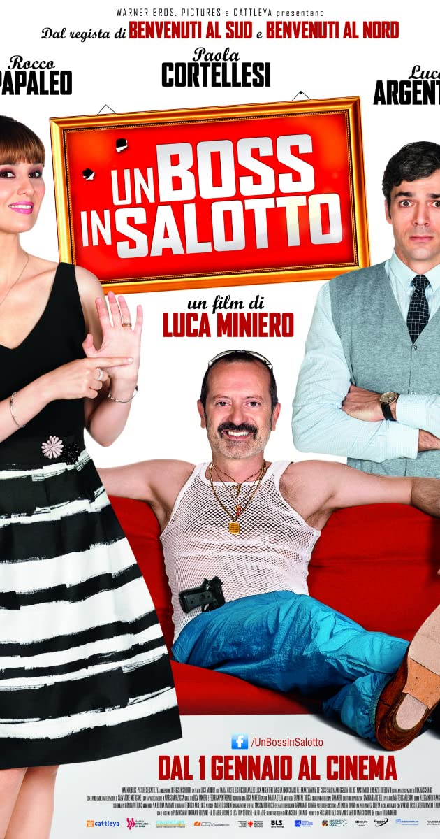 Boss In Salotto.Un Boss In Salotto 2014 Imdb