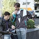 Ike Barinholtz and Andy Samberg in Brooklyn Nine-Nine (2013)