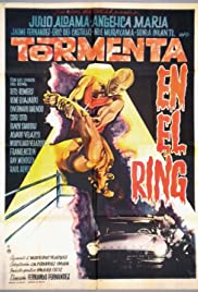 Tormenta en el ring Poster