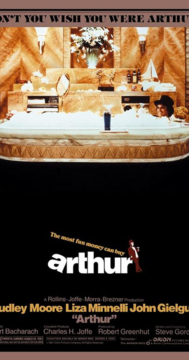 Trailers For Less >> Arthur (1981) - IMDb