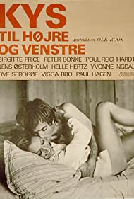 Peter Bonke and Birgitte Price in Kys til højre og venstre (1969)
