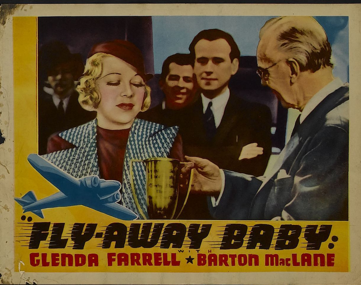 Glenda Farrell in Fly Away Baby (1937)
